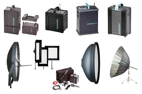 осветительное оборудование Broncolor